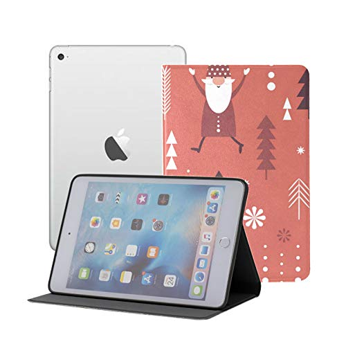 Ipad Mini 1 2 3 Case,slim Lightweight Stand Smart Back Case For Ipad Mini, Mini 2, Mini 3 With Auto Sleep/wake,Christmas With Gnomes