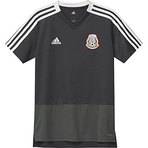 adidas Mexico Men's Training Jersey World Cup 2018 (Black) (YL)