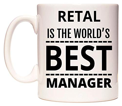 RETAL Is The World's BEST Manager Taza por WeDoMugs®