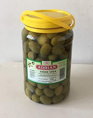 Aceitunas Verde Sosa aderezadas en salmuera 1 Kg