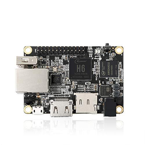 Taidacent Orange pi one Plus Development Board Allwinner H6 Quad core 64 bit ARM Cortex A53 Gigabit Ethernet Port 1GB Memory Programming microcontroller