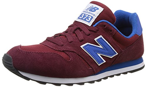 New Balance Unisex-Erwachsene M373 D (14H) Low-Top, Rot (SRB RED), 41.5 EU