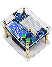 PPITVEQ Módulo de Fuente de alimentación de 60W 6A de Alta Potencia Paso descendente Ajustable regulador de Voltaje LCD voltios Transforme Step-up módulo de alimentación (tamaño : Without Fan)