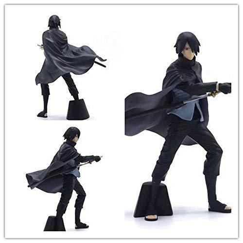 ZUICHU Anime-Charakter Abbildung Sasuke Uchiha Blogger 16CM Handgefertigte Modell Statue Box PVC-Karikatur Souvenirs Dekoration Puppe