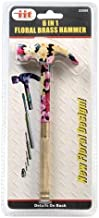 IIT 33500 Includes hammer 6 In 1 Floral Brass Hammer,