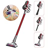 Muzili Vacuum Cleaner, 20Kpa Cordless Vacuum Cleaner 3 in 1 Handheld Stick Vacuum Cleaner with Wall Mount and HEPA Filtration Powerful Cleaning for Floor Carpet, Up to 35 Mins Working Time