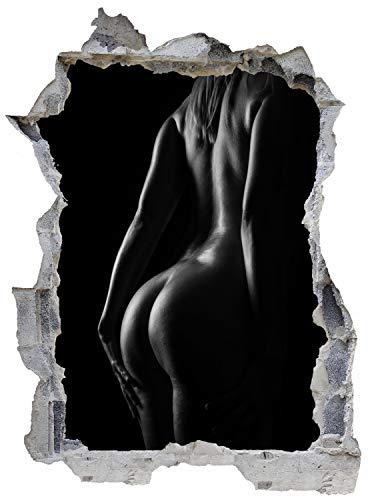 Frau Erotik Körper Schönheit Wandtattoo Wandsticker Wandaufkleber E0175 Größe 46 cm x 62 cm