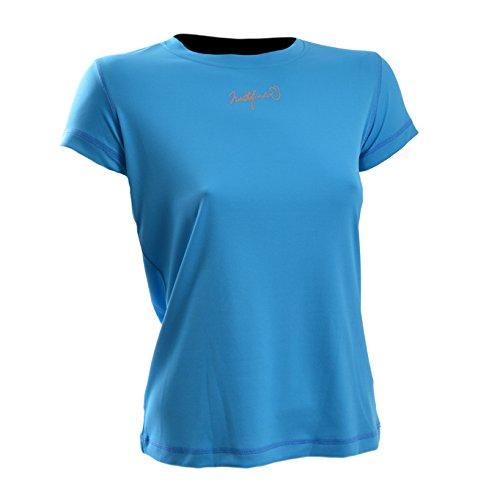northfinder funktions T-shirt Femme Jennifer en turquoise (tyrkismodra), Turquoise