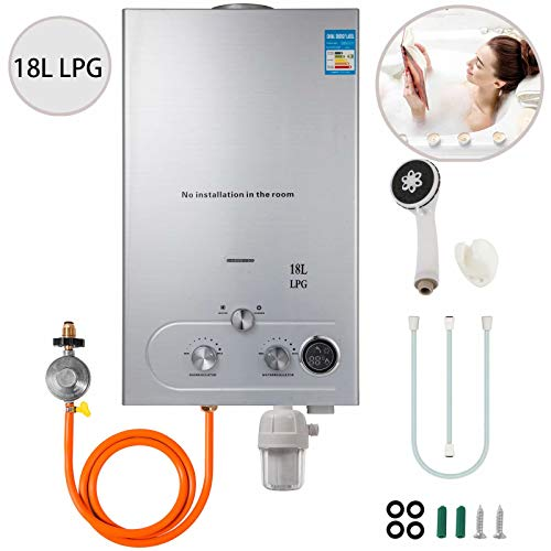 VEVOR Natural 18L Tankless Gas Water Heater