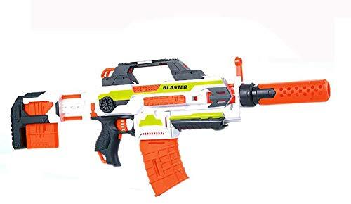 Brigamo 470–Rifle eléctrico de disparo rápido con dardo suave (incluye munición)