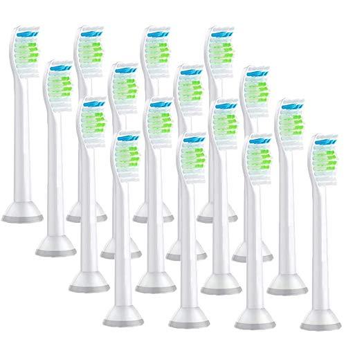 電動歯ブラシ 替えブラシ フィリップス ソニッケア 対応 フィリップスソニッケアー 替えブラシ HX6064 Sonicare 4セット16本入り 互換ブラシ