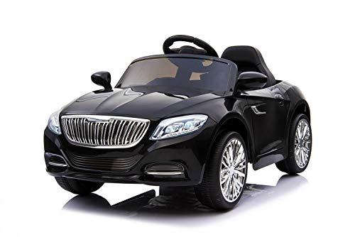 Toyas Kinder Mädchen Elektro Auto Fahrzeug Elektroauto Kinderelektroauto Kinderauto mit Fernbedienung Schwarz 2188