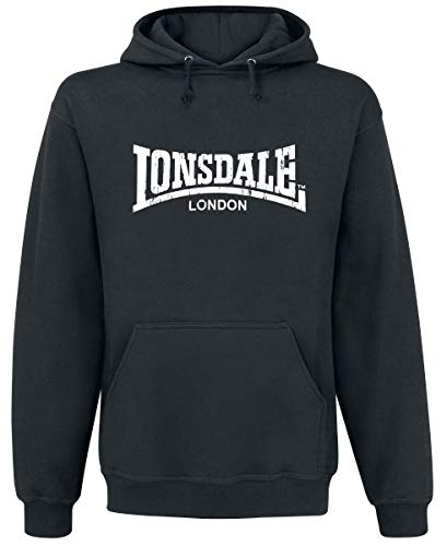 Lonsdale London Herren Hoodies Wolterton schwarz XL