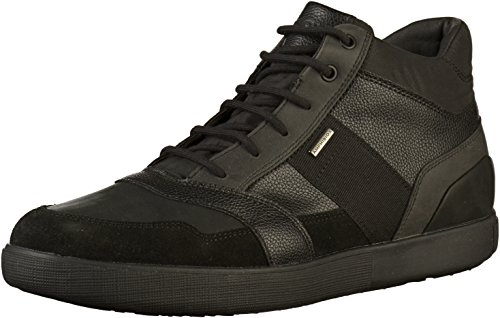 Geox Herren U TAIKI B ABX C Hohe Sneaker, Schwarz (Black C9999), 42 EU