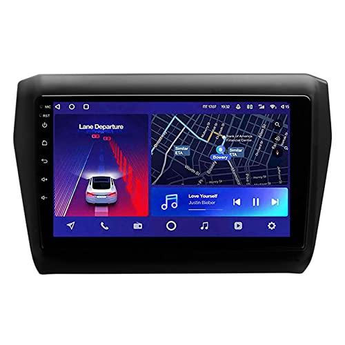 ADMLZQQ Android 10 Autoradio para Suzuki Swift 5 2016-2020 navegación GPS Radio de Coche Bluetooth WiFi Espejo Enlace 4G Carplay Control del Volante Cámara Trasera,8core WiFi+4g: 6+128g