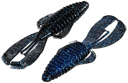 Strike King Unisex's, Blue RGBUG-142 Rage Bug, 4-Inch, 7-Per Package