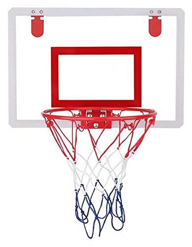 PDVCB Mini Tablero de Baloncesto de la Puerta de la Canasta Interior del aro de Baloncesto Juego