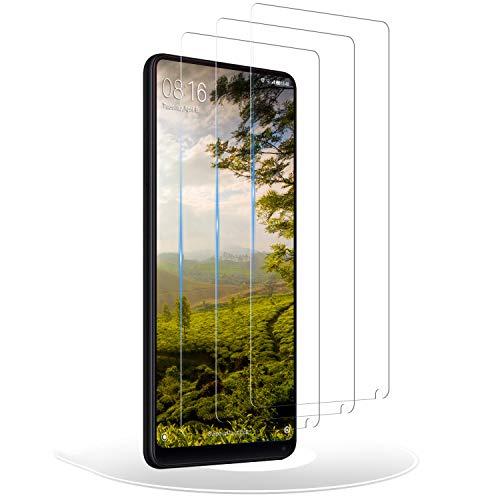 RIIMUHIR Protector de Pantalla para Xiaomi Mi Mix 2/2s,Cristal Templado Mi Mix 2/2s,Vidrio Templado 9H Dureza 3D Touch Compatible para Mi Mix 2/2s, 3 Unidades
