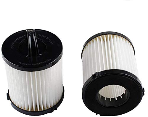 Podoy DCF-21 Vacuum Filter for Compatible with Eureka Airspeed AS1000 EF91B 67821 68931 68931A EF91 EF-91 EF-91B Washable Reusable vacuum Filter Cup Filter Replacement 3271AVZ 3271BLU (Pack of 2)