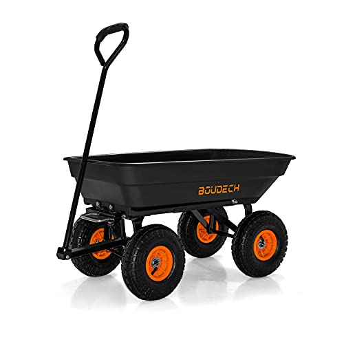 Chariot de jardin à main pour outils, basculement max. 250 kg