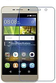 شاشة حماية من الزجاج المقسى لموبايل هواوي y6 برو - لون شفاف
