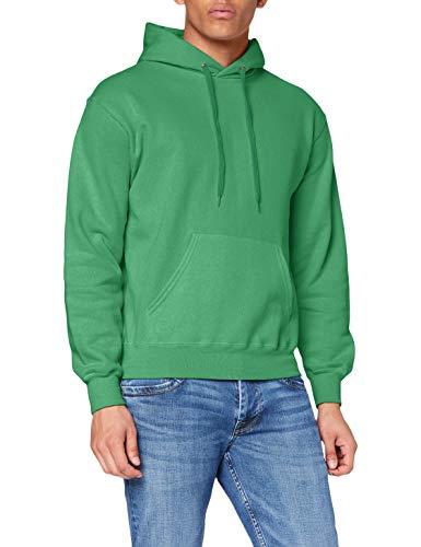 Fruit of the Loom 62-208-0, Men's Classic Hooded Sweatshirt, Kelly Green,...