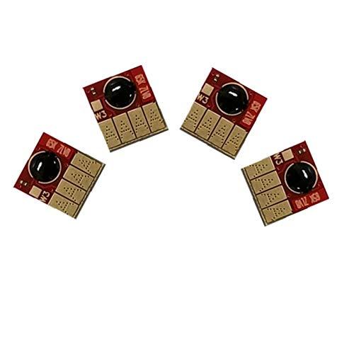 WSCHENG Chip de reinicio automático para HP 655 670 685 Cartucho de Tinta para HP DeskJet Ink Advantage 3525 5525 4615 4625 6525 Impresoras (Color : 670)