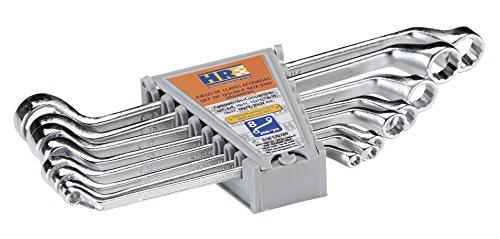 RH 170280 Juego 8 Llaves Acodadas, 0 V, Set de 8 Piezas