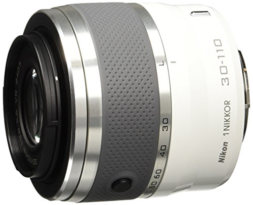 Nikon 1 Nikkor VR 30-110 mm 1:3,8-5,6 Objektiv weiß