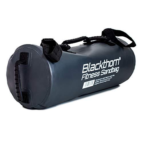 Blackthorn – Fitness Sandbag mit 6 Griff-Varianten I Individuell zu befüllen bis 30kg I Auslaufsicher & robust I Gewichtssack für Fitness-Training I Power-Bag – in Deutschland konzipiert