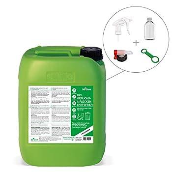 Bio-Chem Bio Urin Attacke Désodorisant et anti-taches en bidon de 5000 ml avec accessoires neutralisateur d'odeurs, destructeur d'urine de chat et de chien