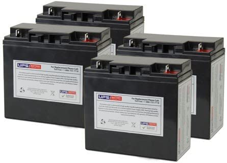 PR2200LCD Compatible - Replacement Battery Set by UPS Battery Center