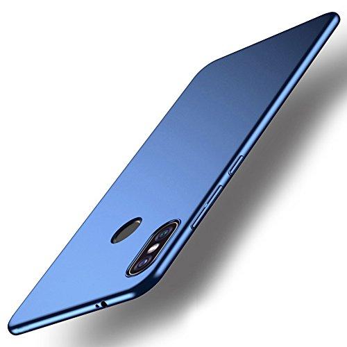 Vooway Blu Ultra Sottile Custodia Cover Case + Pellicola Protettiva per Xiaomi Redmi Note 5 PRO (5.99') MS70588