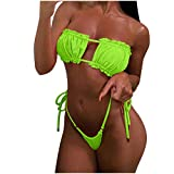 Bikinis Mujer 2020 Brasileño Push up Sexy Bikini de Tres Puntos con Estampado Mujeres Conjunto de Traje de BañO Bohemio Bañador Ropa de Dos Piezas vikinis riou