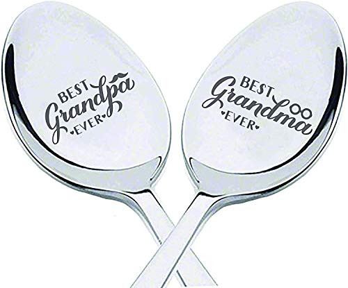 Grandparents day engraved spoon gift
