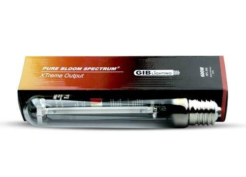GIB HPS Xtreme Pure Bloom Lampe à vapeur de sodium 600 W
