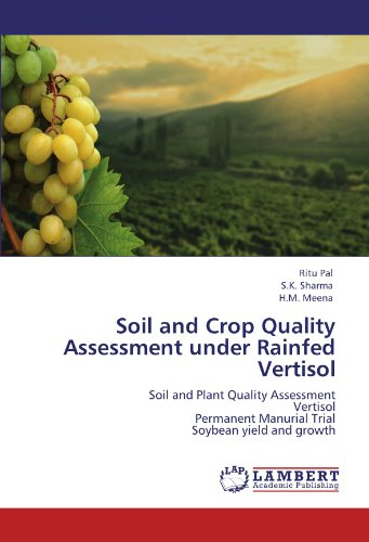 Soil and Crop Quality Assessment Under Rainfed Vertisol