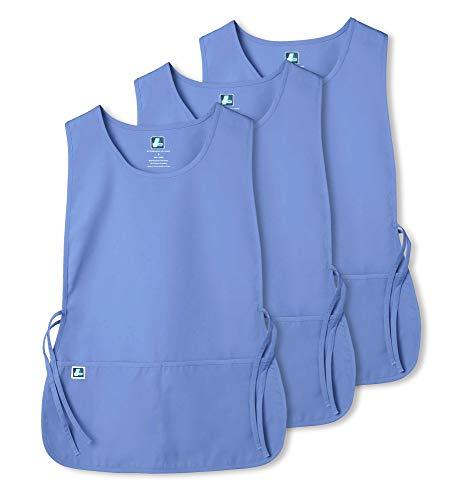 Adar Uniforms Adar Universal Schürze 3er Pack - Unisex Schürze - 7023 - Ceil Blue - R