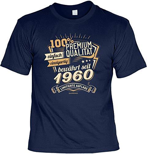 lustiges T-Shirt 60 Geburtstag 60 Jahre Shirt Leiberl Papa Geschenk zum 60 Geburtstag 60 Jahre Geburtstagsgeschenk 60-jähriger Gr: XL