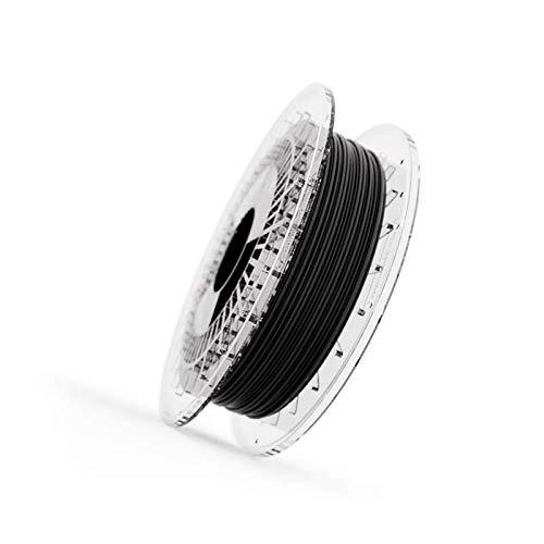 Filamento Elastico FILAFLEX 70A ULTRA-SOFT Dureza Shore/Filamento más elástico (mejor que flexible) del mercado/Alta Resistencia para Impresoras o extrusor 3d (1.75 mm 500 gr, Negro)
