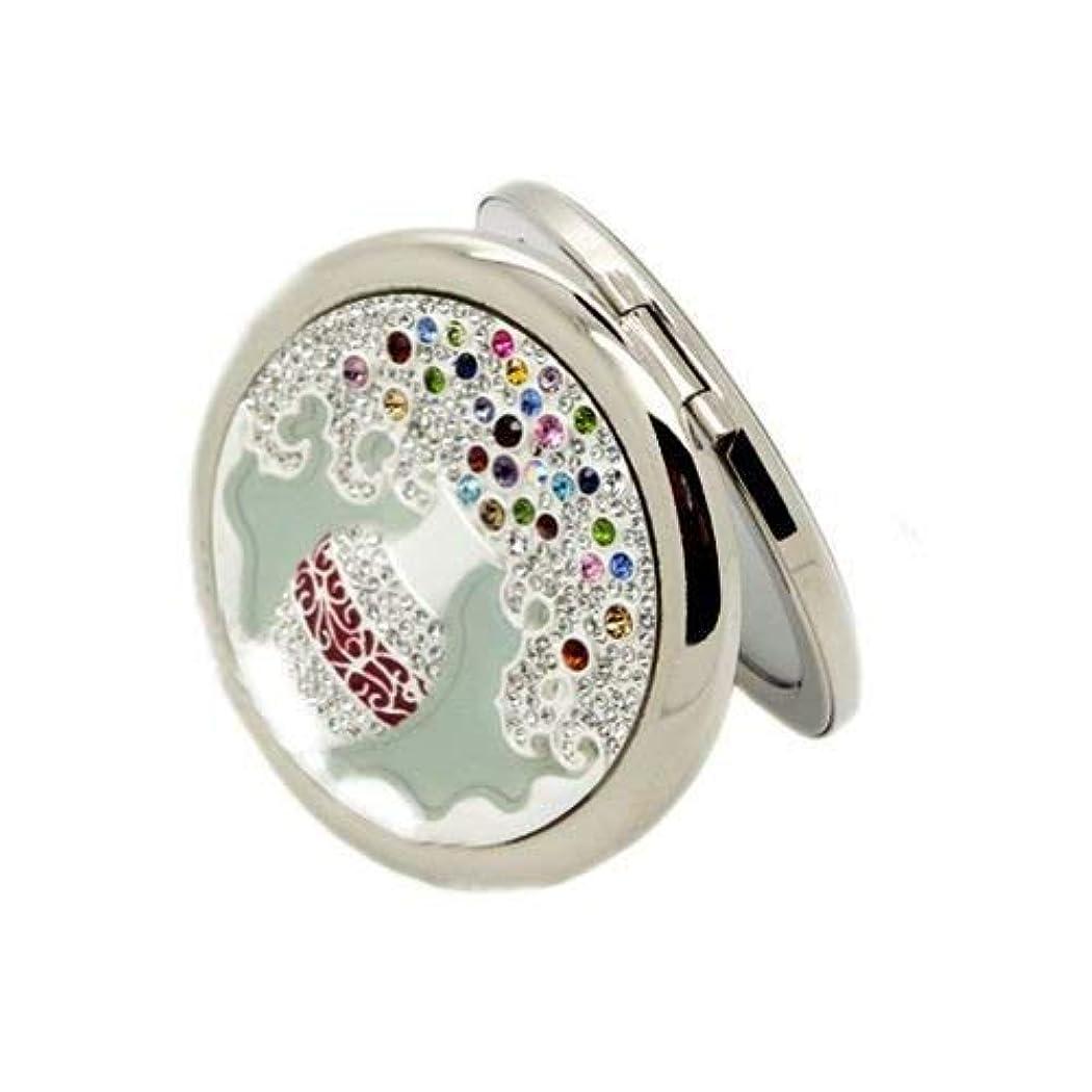 中央有利ホームコンパクトミラー ハンドミラー 手鏡(12081138)