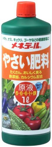メネデール 液体肥料 野菜肥料 原液 1L