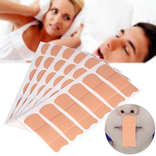 Anti-Schnarch-Aufkleber - Mundsticker Nasenatmungs-Hilfsaufkleber, hypnotisches Schlafen, Mundatmung verhindern