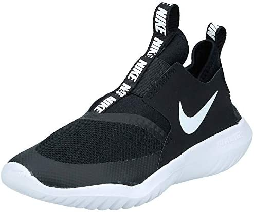 Nike Boy s Flex Runner Sneaker Big Kid Black White 5 5 M product image