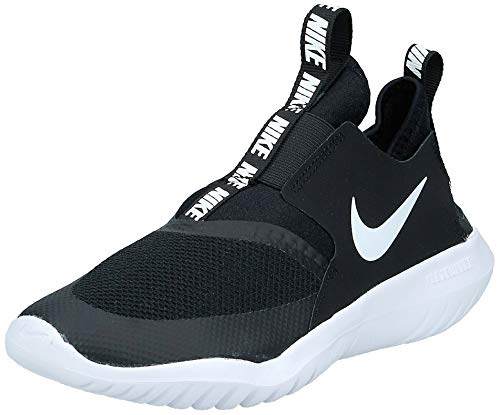 Nike Boy's, Flex Runner Sneaker - Big Kid Black/White 5.5 M