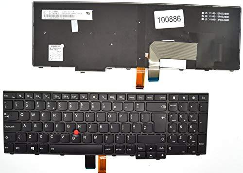 Tellus Remarketing APS Lenovo T540p W540 W541 T550 W550 T540 Bulgarische hintergrundbeleuchtete Tastatur