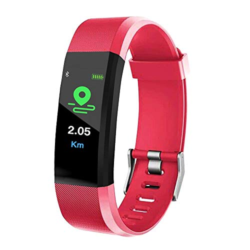 Orologio Telefono Per Ragazzo E Ragazza 115 Plus Smart Electron Orologio Con Schermo A Colori Bluetooth Sport Orologi Wristband Pedometro Bracciale-1 Fitness Tracker Donna Uomo Cardiofrequenzimetro