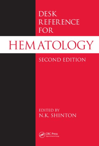 Desk Reference for Hematology (CRC Desk Reference Series) (English Edition)
