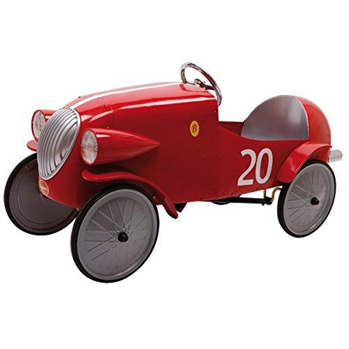 Baghera 1924F - Macchina a Pedali Auto da Corsa, Rossa