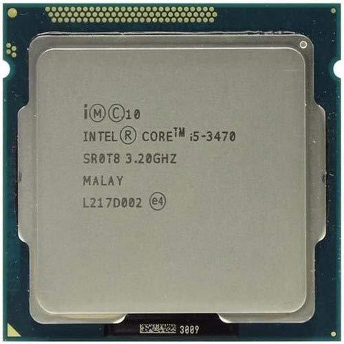 Intel Core i5-3470 SR0T8 Socket H2 LGA1155 Computer Desktop CPU Processore 6MB 3.2GHz 5GT/s (Ricondizionato certificato)